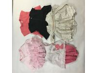 Pretty baby clothes for a girl (0-3 months)