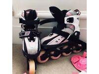 Roller skates for girl.