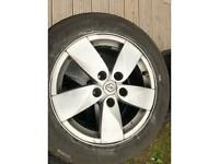 RENAULT MEGANE ALLOYS AND TYRES