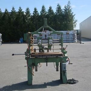 Zelisko Solid Wood 2-Head Vertical Boring Machine