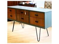 Lovely mid-century sideboard with hairpin legs