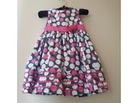 Designer little girls dress by Maggie & Zoe
