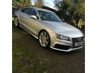 GENUINE AUDI RS7 20 INCH BBS ALLOY WHEELS WITH WINTER TYRES A6 S6 A7 S7