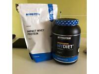 Salted Caramel Flavour MyDiet Protein Powder