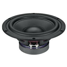 Monacor SPH-8M Hi-Fi Bass Speaker Woofer Mid 150WMAX 100WRMS Brand New