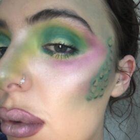 Halloween makeup! Freelance makeup artist