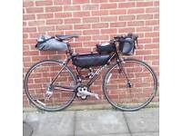 Bicycle touring cycle tour bike trip
