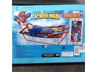 THE AMAZING SPIDER-MAN CHILD HAMMOCK : BRAND NEW IN BOX