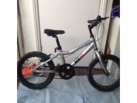 Child's Ridgeback MX16 bike 16 inch wheel silver-black