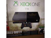 Ltd edition call of duty Xbox one in box