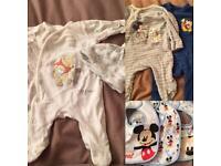 Huge bundle of Disney baby clothes