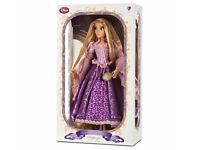 THE DISNEY STORE LIMITED EDITION DOLLS RAPUNZEL ARIEL CINDERELLA ELSA ETC