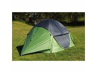 EUROHIKE POP DS400 4 MAN TENT - USED ONCE - LIKE NEW