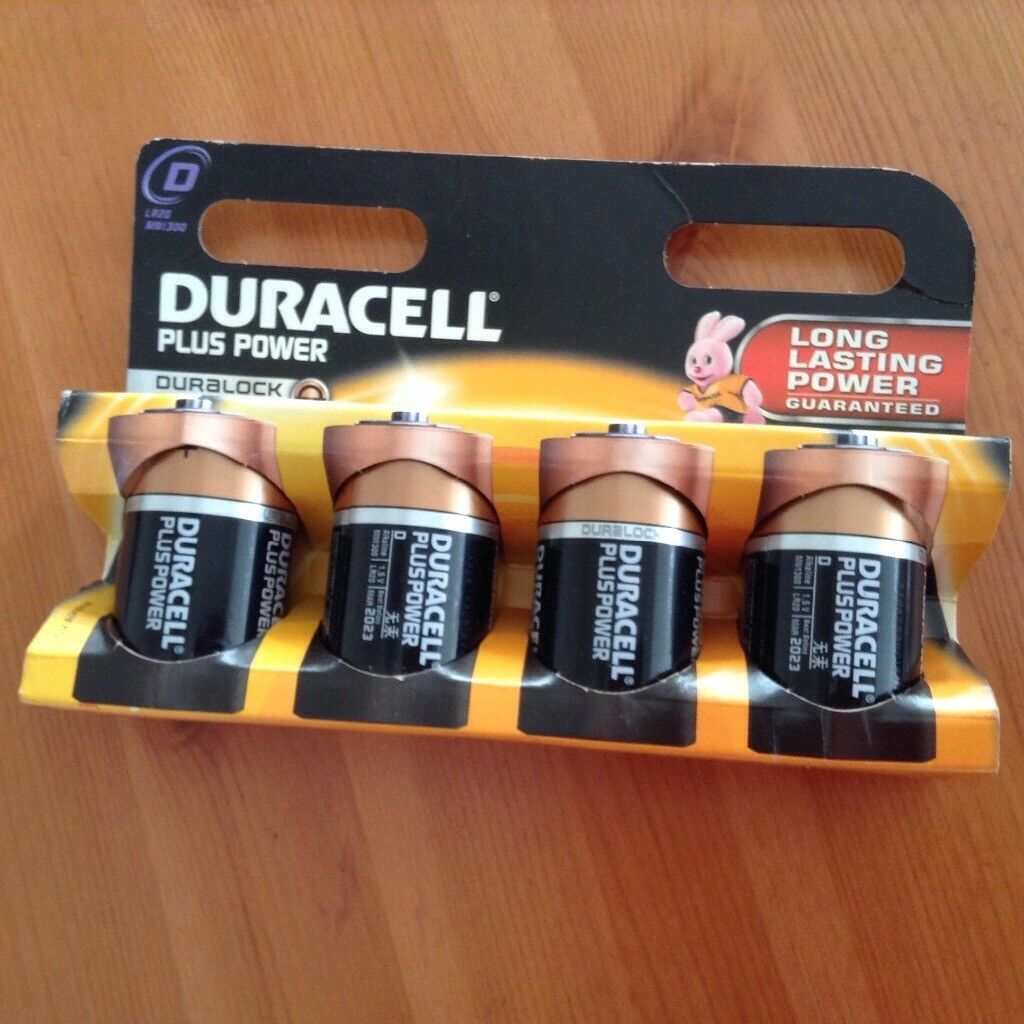 **REDUCED TO £2**DURACELL BATTERIES