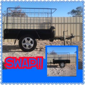 5x3ft trailer swap for a 6x4ft or bigger, can add cash!! Txt phot Wallaroo Copper Coast Preview
