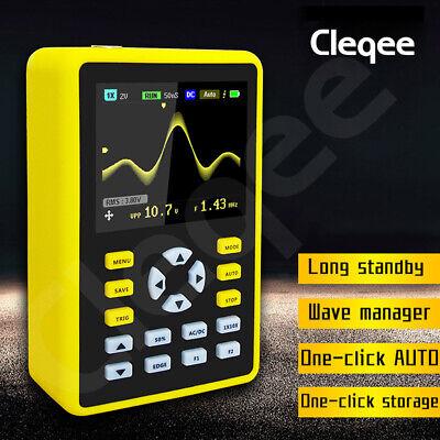 5012h Handheld Digital Oscilloscope Ips Lcd Display Dso 2.4 100mhz 500mss