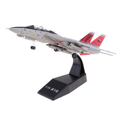 1:100 American F-14 Airplane Aircraft Plane Model Toy Diecast Fighter Gifts for sale  Shipping to Canada