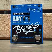 Radial Tonebone Bones Twin-City ABY Switch Effects Pedal Moorooka Brisbane South West Preview