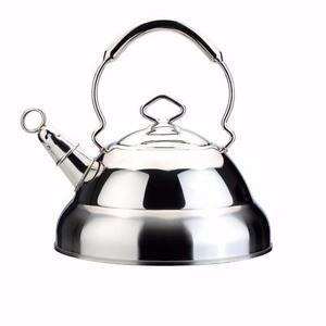 BergHOFF 1104126 Whistling Tea Kettle, 11-Cups  – Brand New