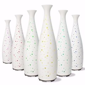 BNIB Tall Ceramic Aromatherapy Diffuser (rrp £45)