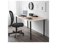 Ikea LINNMON/ADILS wooden desk