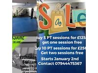 Personal training and strength & conditioning at private studio in Hornchurch