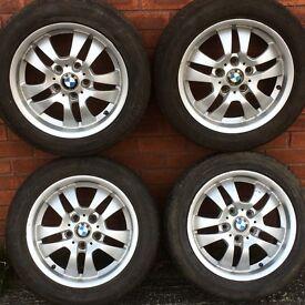 "Genuine 16"" bmw 3 series alloy wheel rims & tyres Vauxhall Vivaro Renault Trafic Nissan Primastar"
