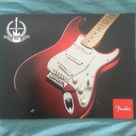 Fender Stratocaster 60th Anniversary Commemorative Book