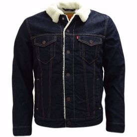 Levi Strauss Sherpa Trucker Jacket XL
