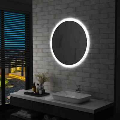 vidaXL Espejo de Baño con LED 80 cm de Aumento Maquillaje de...