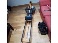 WATER ROWER RRP £1000 FOR £500!!! BARGIN! Waterrower Beech Rowing Machine with S4