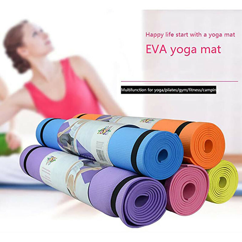 4MM EVA Thick Durable Extra Thick Exercise Yoga Mat Non-slip