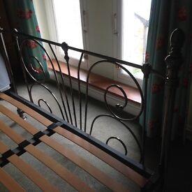 King size ornate bed frame