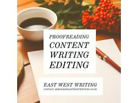Professional Proofreading Available by qualified staff.