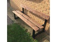 Fully Refurbished Park Bench