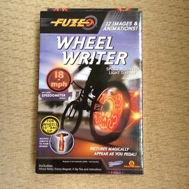 Wheel Writer - spoke mounted light display