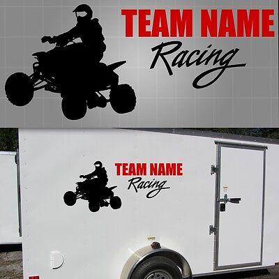 - ATV Race Team Graphic, Quad Sticker, ATV Trailer Decal - 22