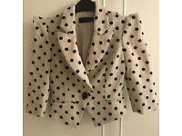 Will post. Like new. Miss selfridge jacket size 8