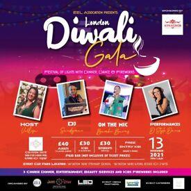 London Diwali Gala - Festival of lights with Dinner Dance & Fireworks