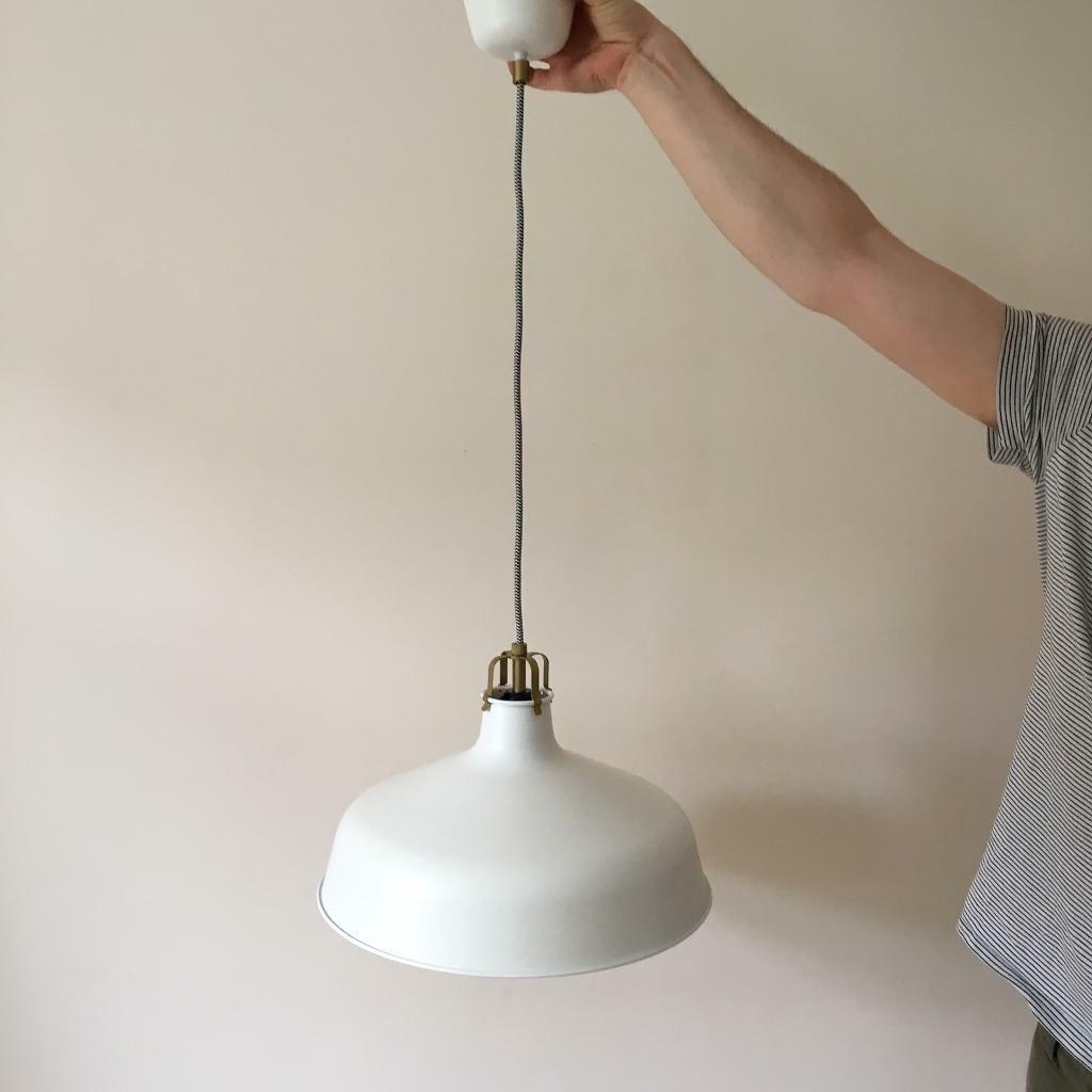 buy popular 568ba 62111 New and unused Ikea Ranarp pendant lamp   in Camberwell, London   Gumtree
