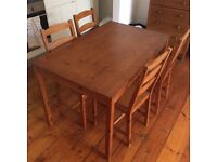 Lovely wooden dining table