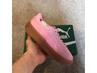 Puma Suede Platform JR | UK 6 | New in original box.