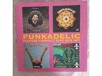 Funkadelic Picture Disc CD Box Set 4x CDs