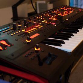 Roland JD-XA. Mint with Roland Matt Covers.