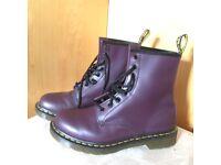 Dr Martens Originals Boots- purple, size 6