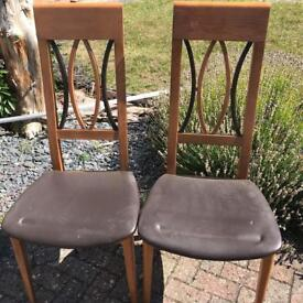 Leather Table Chairs