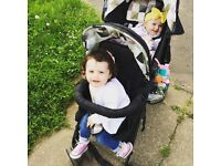 My child sienta duo double pram