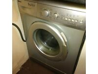 silver washing machine vgc can deliver