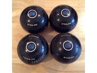 Bowls ALMARK Sterling X 4 & Bag