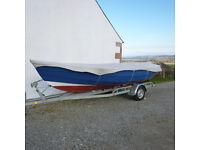 Sailing Boat. Drascombe Lugger